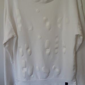 North Sails sz L white made in Portugal sweatshirt